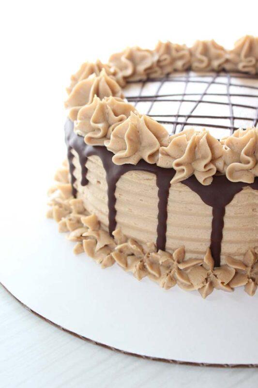 Custom Vegan Cake